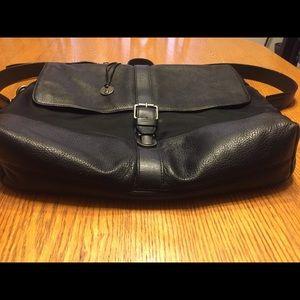 John Varvados/ leather briefcases/ Men's